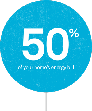 50% of your homes energy bill - CrispAV