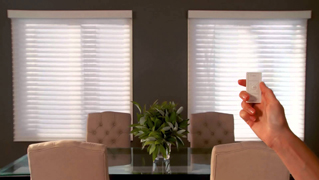 Automatic blinds or motorized shades make windows smart for Smart window shades